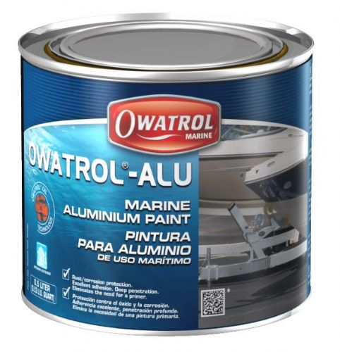 Owatrol GLV Aluminium Paint 750ml Rust Coating Treatment Steel etc